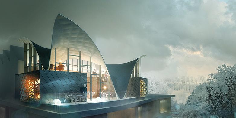 NEST HiLo die Innovationseinheit, architektonische Lösung zum Klimaschutz