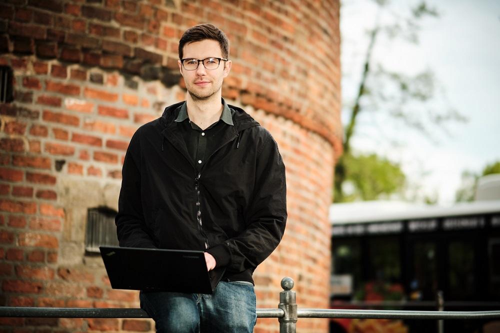 Der Student Mike Rowen