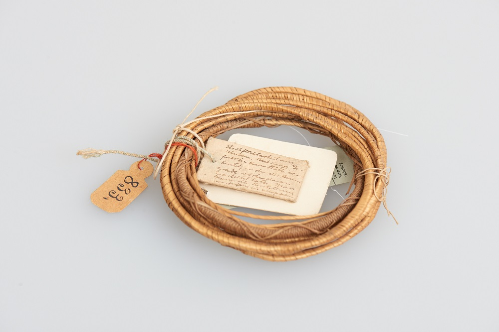 Grasringe aus der Sammlung des Landesmuseums Natur und Mensch