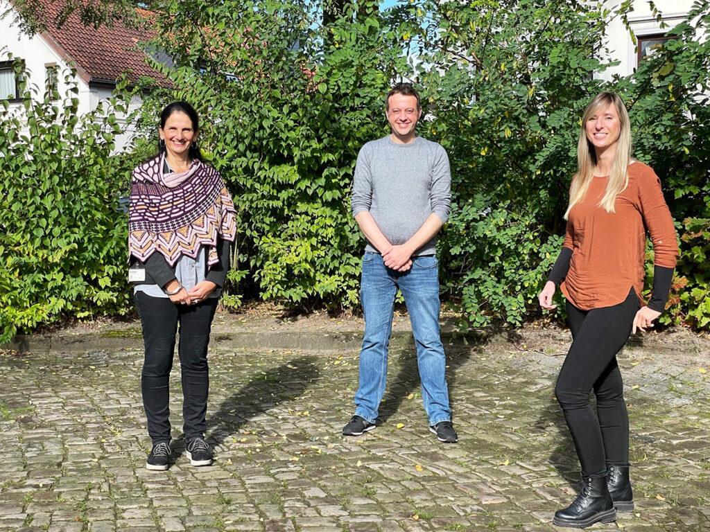Prof. Dr. Frauke Koppelin, Kristin Illiger, Alexander Pauls, Jade Hochschule
